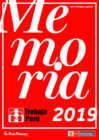 Vista preliminar de documento Memoria 2019 del programa Trabaja Perú