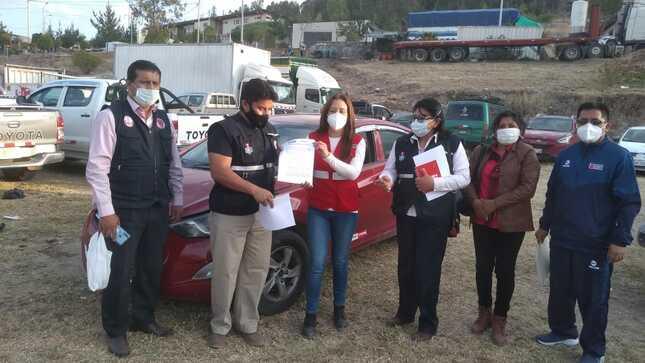 Pronabi entregó 55 vehículos a instituciones públicas de la región Ayacucho