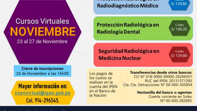 Centro Superior de Estudios Nucleares ofrece cursos virtuales en Protección y Seguridad Radiológica