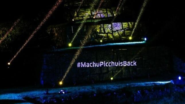 #MachuPicchuisBack