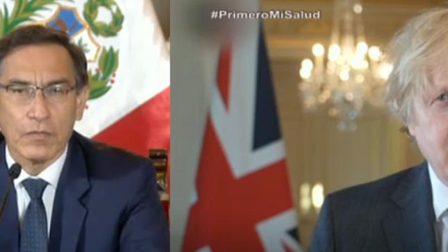 Suscripción del Acuerdo de Gobierno a Gobierno para la Reconstrucción entre el Perú y el Reino Unido