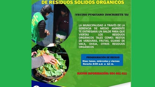 PROGRAMA DE SEGREGACION DE RESIDUOS SOLIDOS