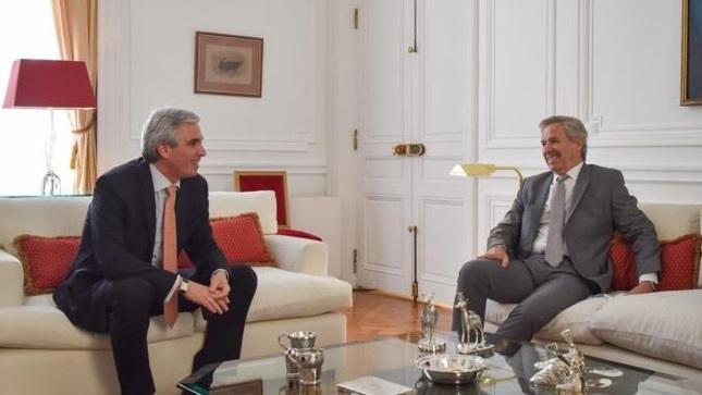 El Embajador del Perú sostuvo reunión de trabajo con el Canciller argentino Felipe Solá
