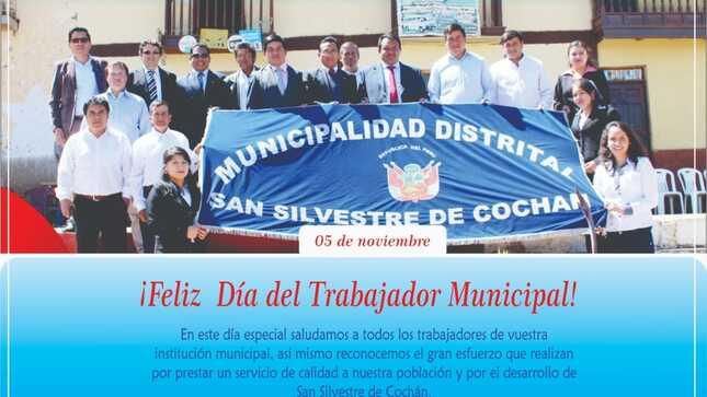 ¡Feliz Día del Trabajador Municipal!