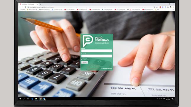 Más de 220 mil contrataciones públicas fueron simplificadas en los catálogos Electrónicos de PERÚ COMPRAS