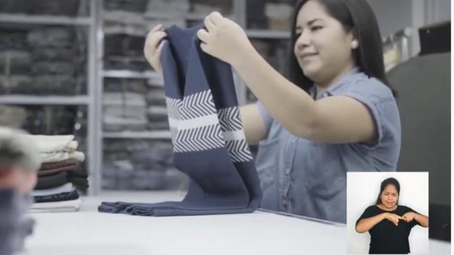 El Indecopi difunde vídeos en lenguaje de señas para que más peruanos conozcan cómo registrar sus marcas de manera virtual