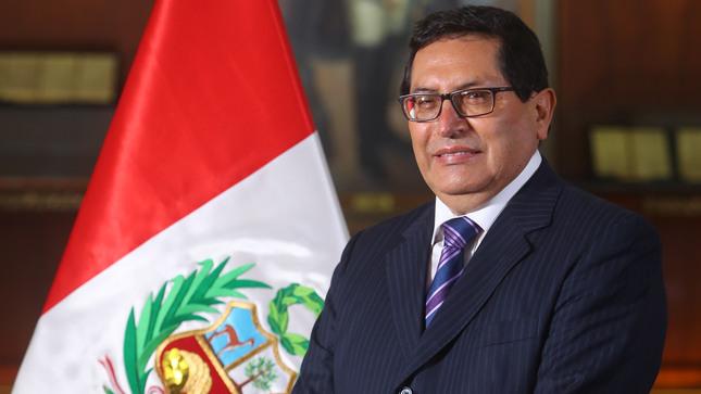 Federico Tenorio Calderón asumió como nuevo ministro de Agricultura y Riego