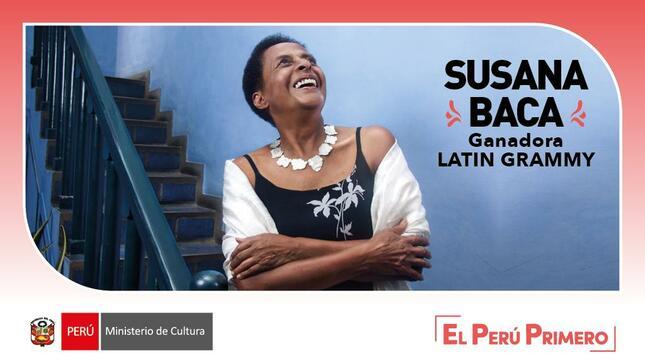 Ministerio de Cultura felicita a Susana Baca, Lorenzo Ferrero y Justin Moshkevich por ganar Premios Latin Grammy