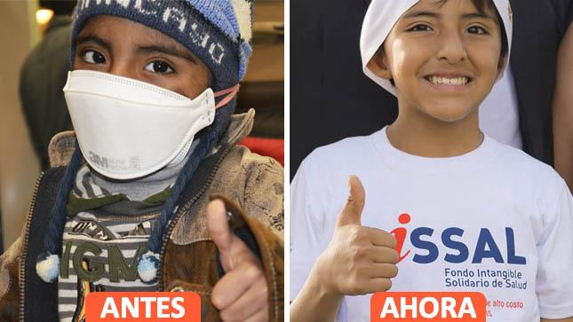 Garantizamos el tratamiento de enfermedades de alto costo a niñas y niños asegurados al SIS