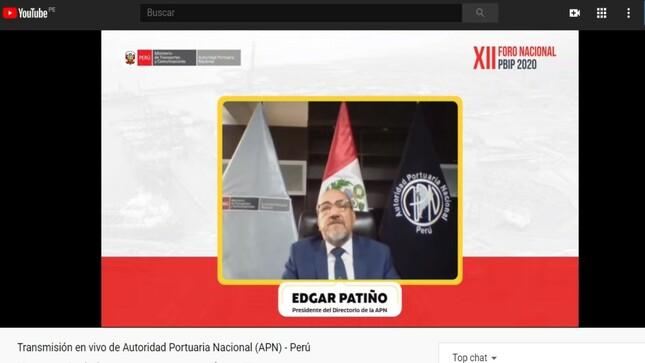 Autoridad Portuaria Nacional inauguró XII Foro Virtual PBIP 2020