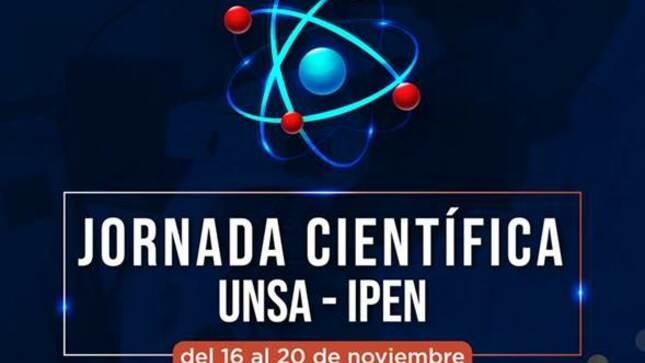 IPEN desarrolló Jornada Científica con la UNSA