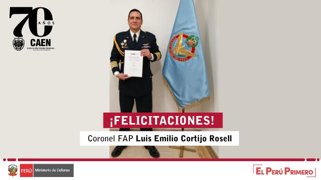 Sustentación virtual de tesis - Luis Emilio Cortijo Rosell