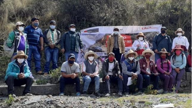 Minagri impulsará la agricultura familiar con mantenimiento de 22 canales de riego, mediante Núcleos Ejecutores en Apurímac