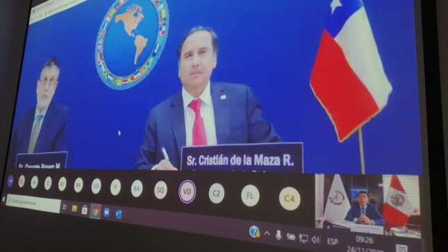 Viceministro de Defensa se reunió con sus pares de América previo a próxima XIV Conferencia de Ministros
