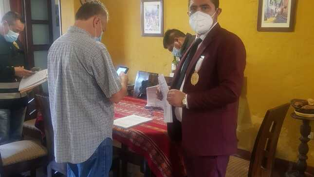 Ministerio Público participó en la detención de funcionarios de la Municipalidad Distrital de Santa María del Mar