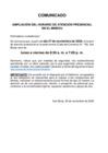 Vista preliminar de documento Comunicado:  Ampliación del horario de atención presencial en el Minedu
