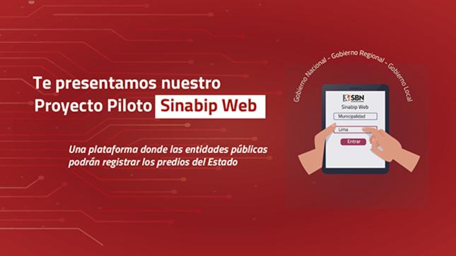SBN pone en funcionamiento  proyecto piloto Sinabip Web