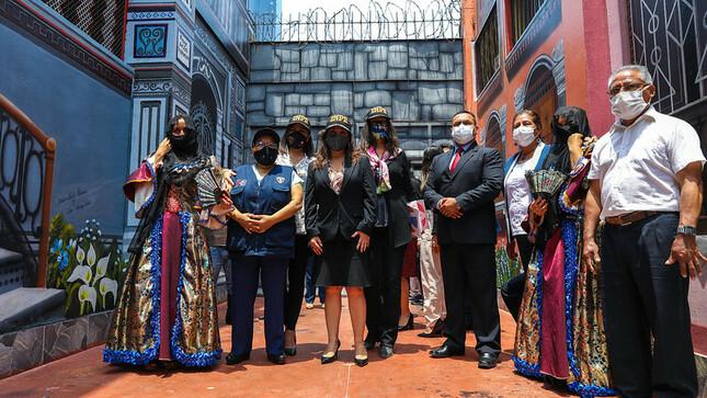 INPE reactiva el arte y cultura en penal Miguel Castro Castro