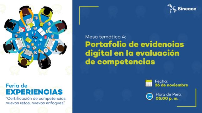 Entidades certificadoras presentarán experiencias en el uso del portafolio de evidencias digital