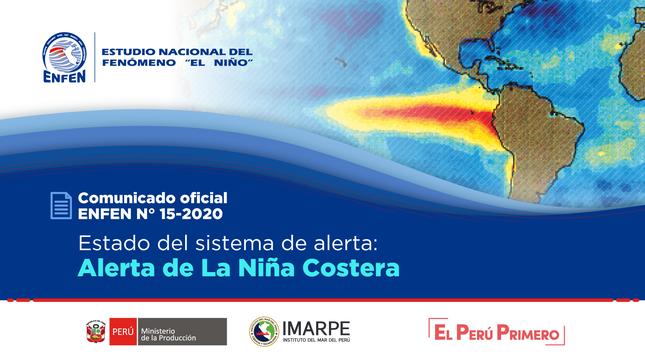 ENFEN N°15-2020 Estado del sistema de alerta: Alerta de La Niña Costera
