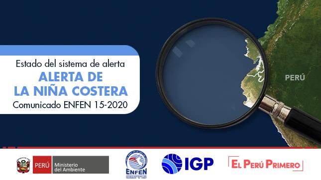 ENFEN Nº15- 2020: Estado de alerta: Alerta de La Niña Costera