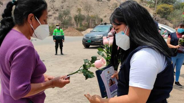 Lima Este: Ministerio Público realizó diversas actividades por el Día Internacional de la Eliminación de la Violencia contra la Mujer