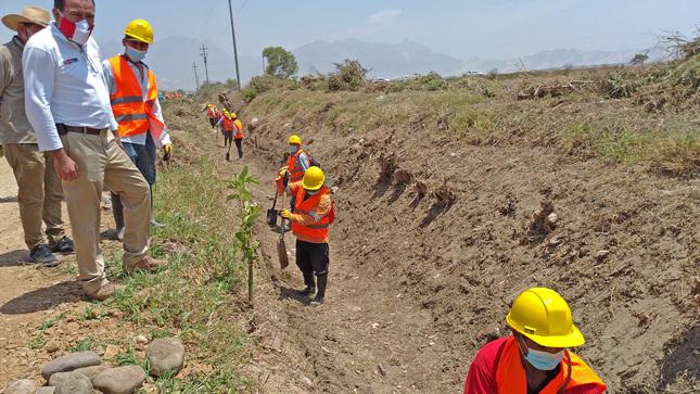 Ministerio de Desarrollo Agrario y Riego atiende la demanda agua en valles agrícolas de Piura
