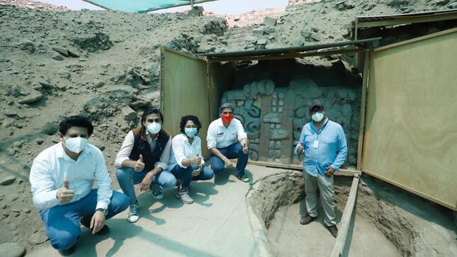 Ministro de Cultura supervisó el estado de los sitios arqueológicos en San Martín de Porres