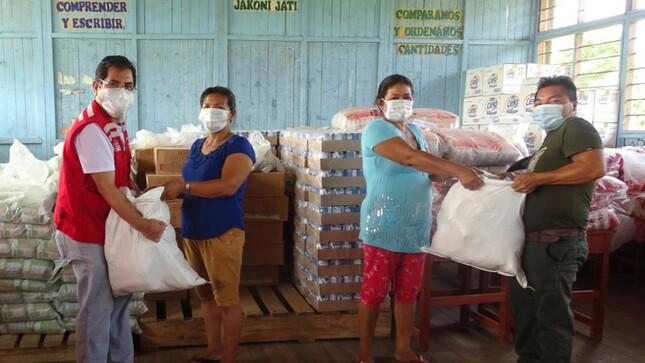Ministerio de Cultura: Más de 20,000 ciudadanos de pueblos indígenas Ashaninka, Asheninka y Shipibo-Konibo de Ucayali recibirán alimentos