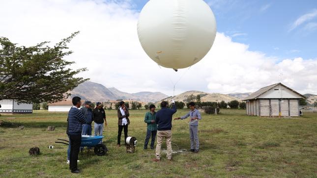 IGP: Proyecto MAGNET culmina con información útil  para mitigar eventos meteorológicos adversos en los Andes