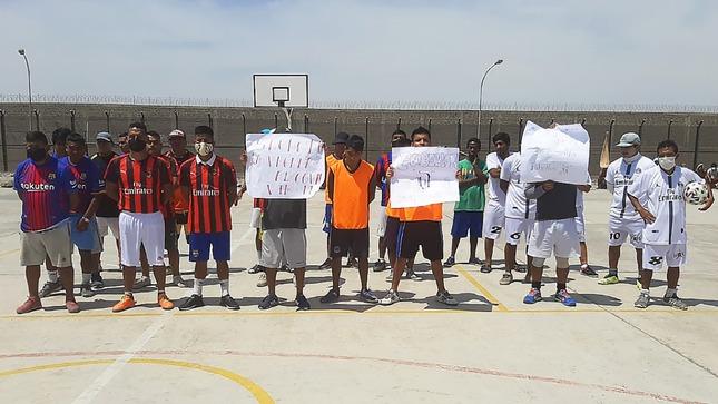 Internos del penal de Tacna reciben charlas en el Día Mundial de la lucha y prevención contra el SIDA y VIH