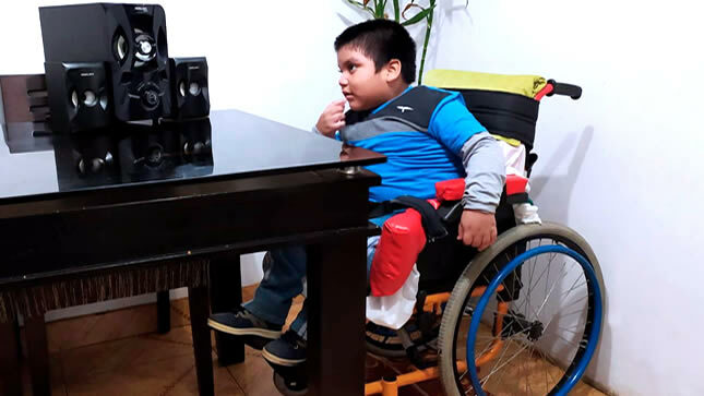 15 mil familias de niños y jóvenes con discapacidad siguen los programas de radio y televisión del Minedu