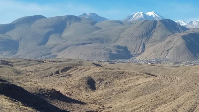 Arequipa: Ingemmet tendrá listo para el 2021 el Mapa de Peligros del  Complejo Volcánico Chachani