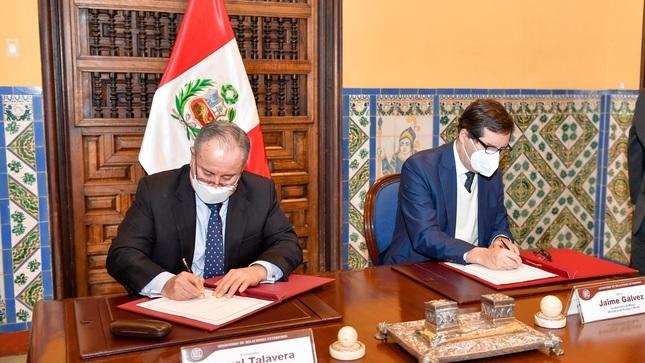 Perú, Australia, Botsuana, Canadá y Estados Unidos suscriben memorando de entendimiento para promover la cooperación en materia de recursos