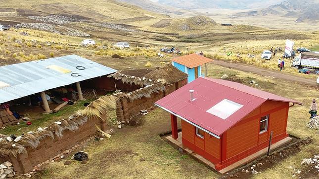 Apurímac: MVCS construirá el próximo año 590 viviendas para población afectada por heladas y friaje