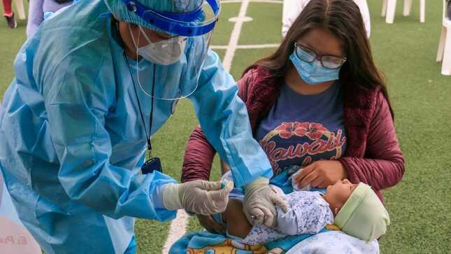 Minsa: Cerca de 200 000 niños menores de cinco años serán protegidos durante Jornada Nacional de Vacunación