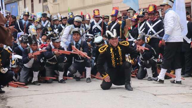 Proyecto Bicentenario conmemora los 200 años de la Batalla de Pasco este 6 de diciembre