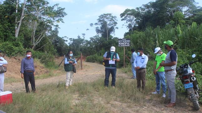 Autoridades Municipales, El Fema y el Ana Verifican Terreno Clausurado de Botadero Municipal