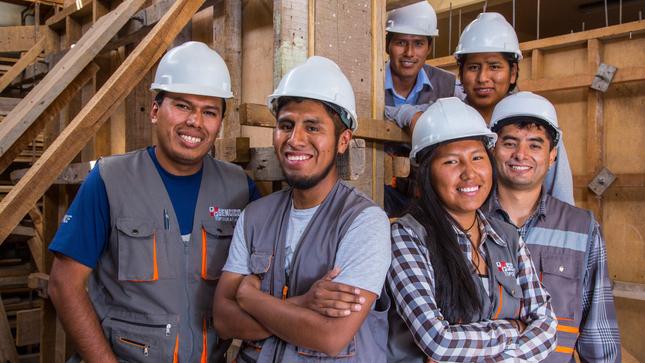 SENCICO ofrece más de 1,700 vacantes para carreras del  sector construcción en su examen de admisión 2021-1