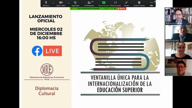 Lanzamiento de ventanilla única para la internacionalización de la educación superior