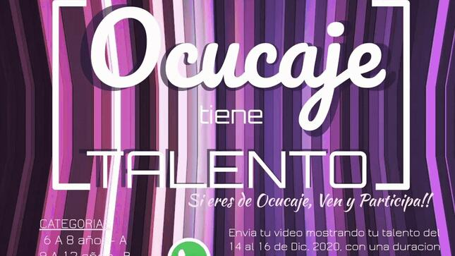 "1er Concurso Virtual  ""Ocucaje Tiene Talento"""