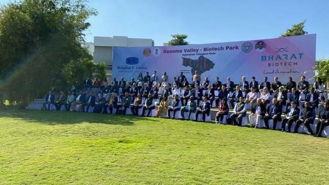 Ambassador Carlos R. Polo visits key biotech companies in Hyderabad