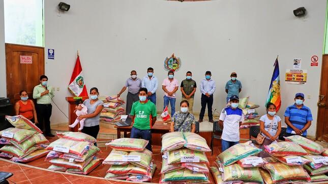 🌾Alcalde de Villa Virgen y AGRORURAL Entrega más 2220 Kilos de semilla se maíz chalero🌾
