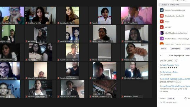 260 Jóvenes de Arequipa, Junín y Lambayeque concluyeron capacitación laboral en la modalidad no presencial del MTPE