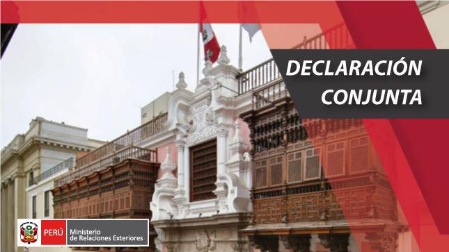 Declaración de Lima Foro de Antiguas Civilizaciones
