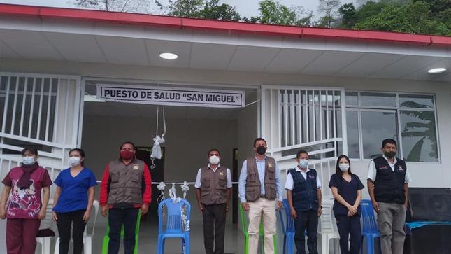 Inauguración del Centro de Salud del Caserío de San Miguel
