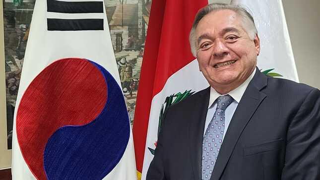 Mensaje por fiestas de fin de año del Embajador del Perú en Corea