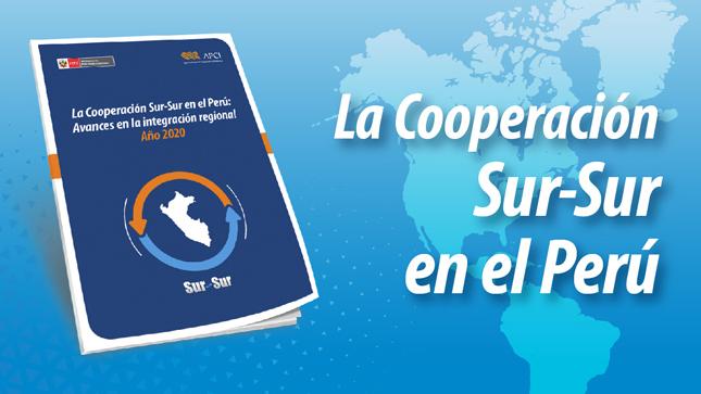 APCI recopila en documento, las actividades promovidas en el marco de la Cooperación Sur-Sur en el Perú