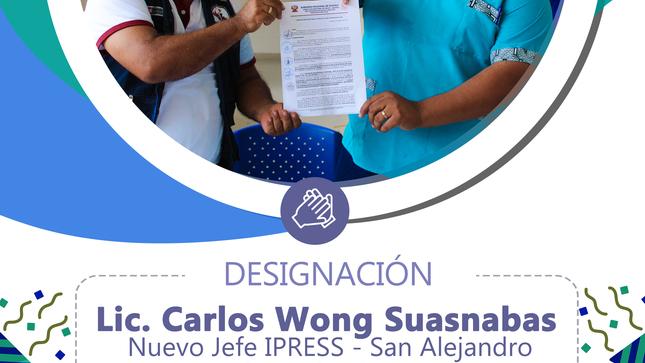 Designan nuevas autoridades de salud en el distrito de Irazola - San Alejandro