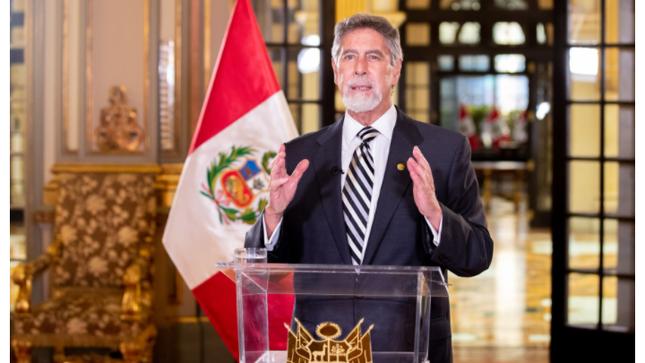 Presidente Sagasti anuncia compra de vacunas contra el covid-19